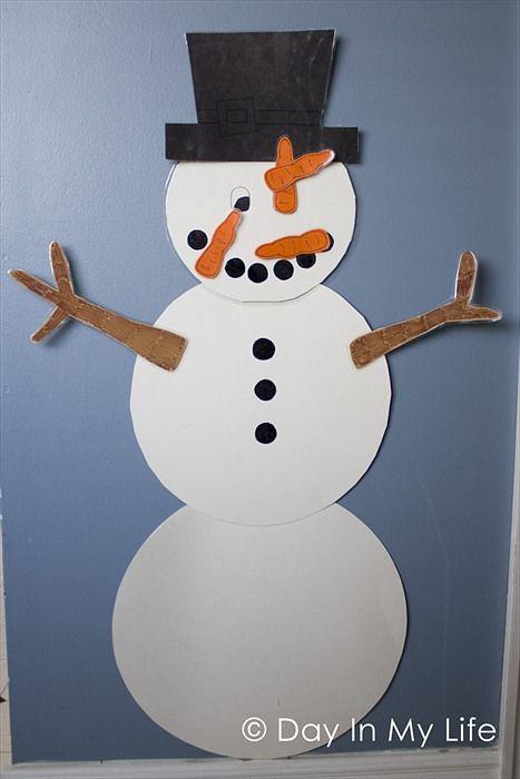 Jeux d'hiver ou de Noël! 5 modèles plus DES PATRONS GRATUITS! - Bricolages - Des bricolages géniaux à réaliser avec vos enfants - Trucs et Bricolages - Fallait y penser !