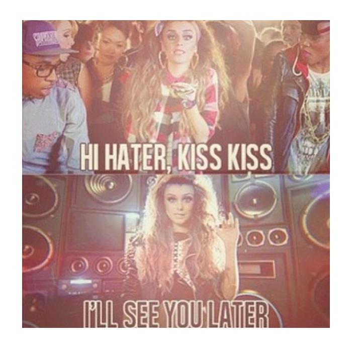 Kiss To My Haters Quotes
