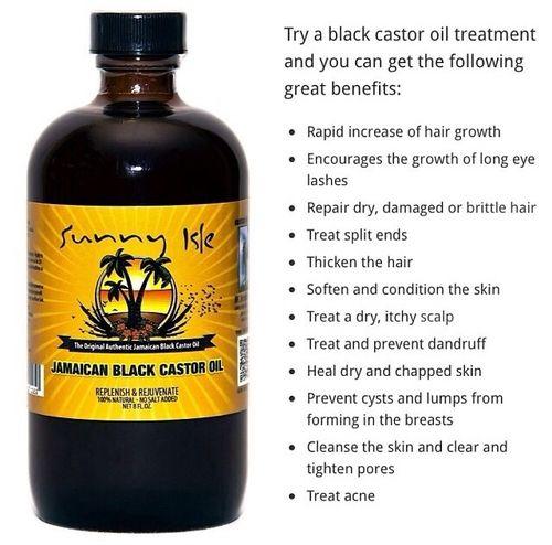 The benefits of Jamacian black castor oil