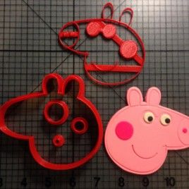 Peppa Pig – Peppa Cookie Cutter Set