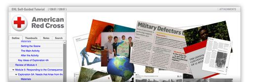 Free three hour tutorial for teachers (by Red Cross) on international humanitarian law.