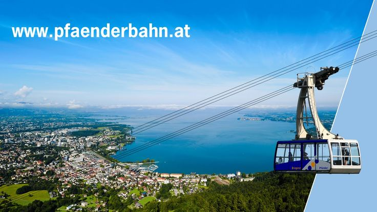 Pfänderbahn - Bregenz, Lake Constance.  Climbed up the Pfander.