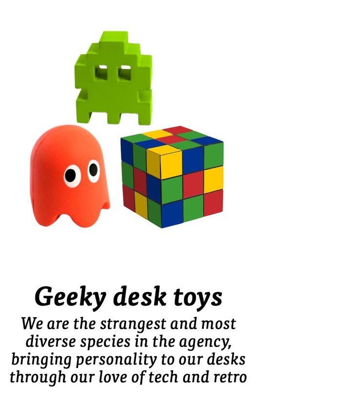 Geeky desk toy...