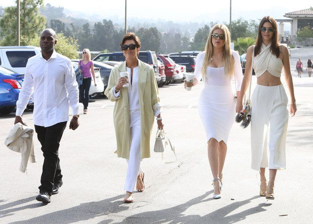 Over the holiday weekend, the Kardashian-Jenner family went to church to thank the powers that be for all they've been given.   This Is How The Kardashian-Jenner Family Does Church