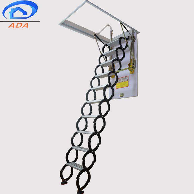 High strength lightest telescopic long ladder buy fold