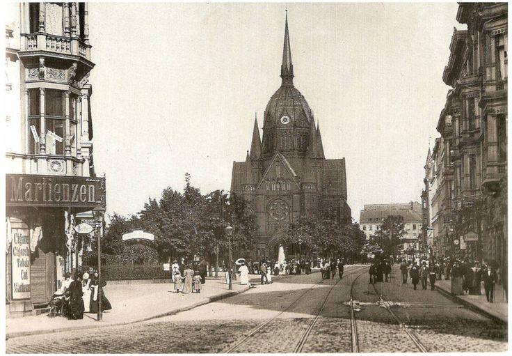 Die Kirche zum Heiligen Kreuz in Kreuzberg am Blücherplatz Berlin in alten Bildern - Seite 52 - Berlin - Architectura Pro Homine