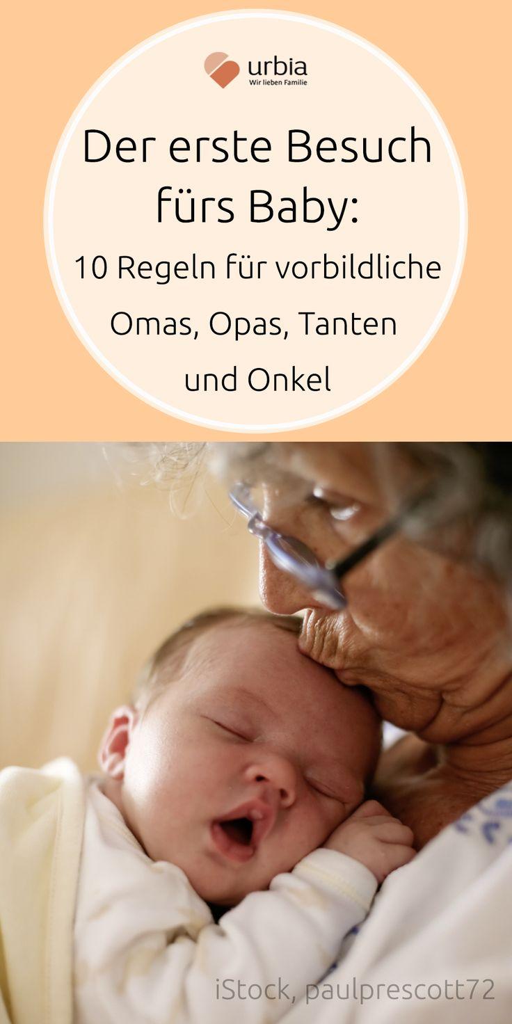 Vor lauter Entzücken vergessen enthusiastische Babybesucher oft, was Eltern und Kind jetzt wirklich brauchen. 10 Tipps für vorbildliche Tanten, Freunde, Omas, Opas und Co. #babybesuch #neugeborenes