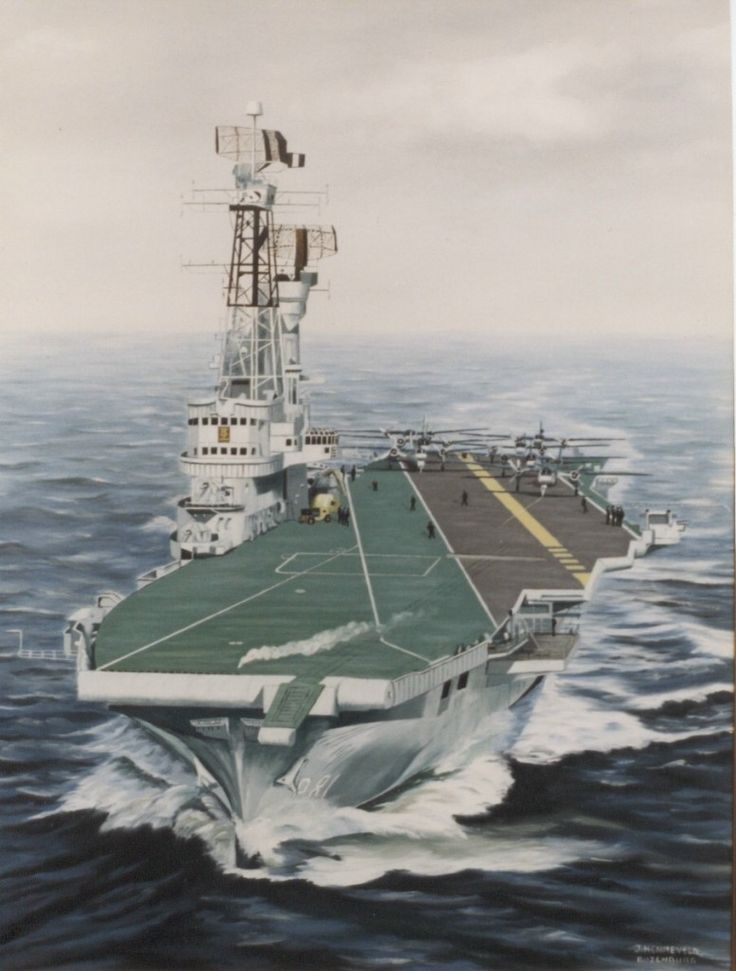 Karel Doorman, former aircraft carier of the Dutch navy