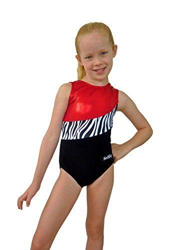 Love the black velvet! Sofilu™ Toddler Girl Gymnastics Leotard - Dynamic