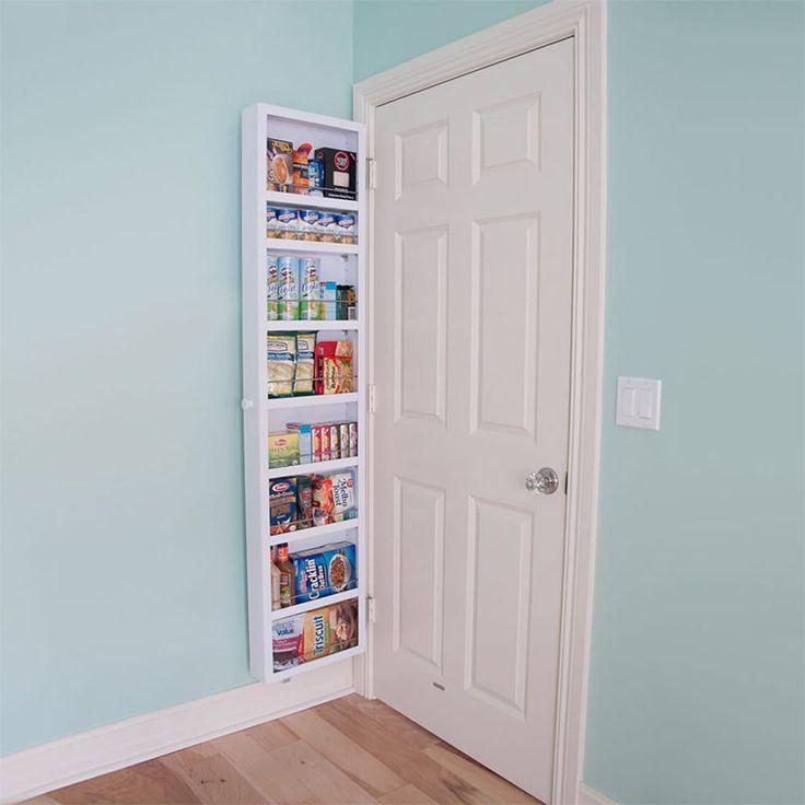 Esta ideia de armário é praticamente obrigatório para quem mora em uma casa ou apartamento pequeno. Quem acompanha o blog sabe que locais para armazenar co