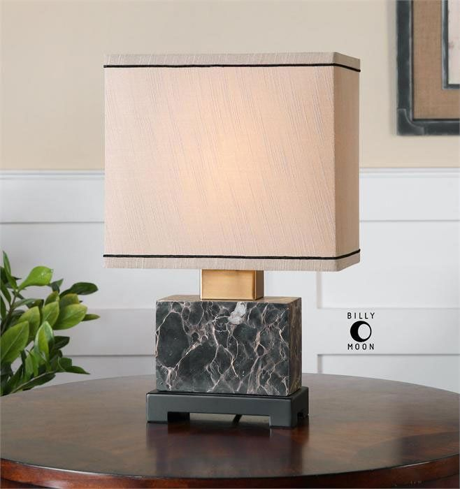Billy Moon Transitional Table Lamp