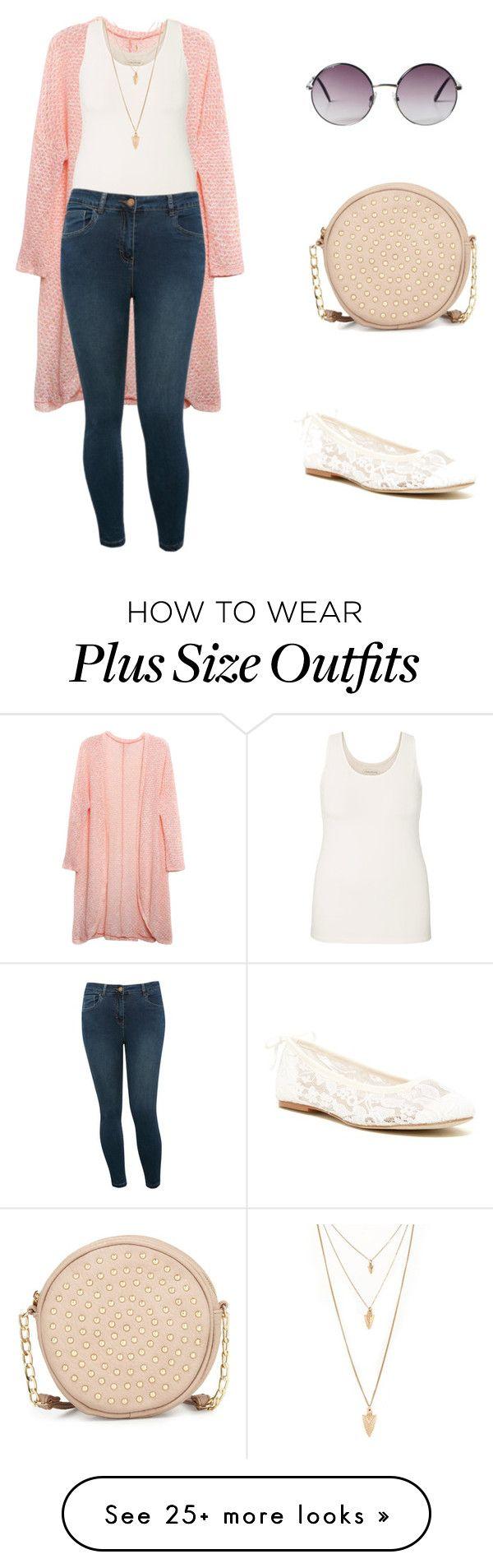 zapatos bancos Jeans Blusa sin manga blanca Sueter rosa claro