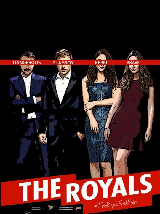 Resultado de imagem para the royals serie