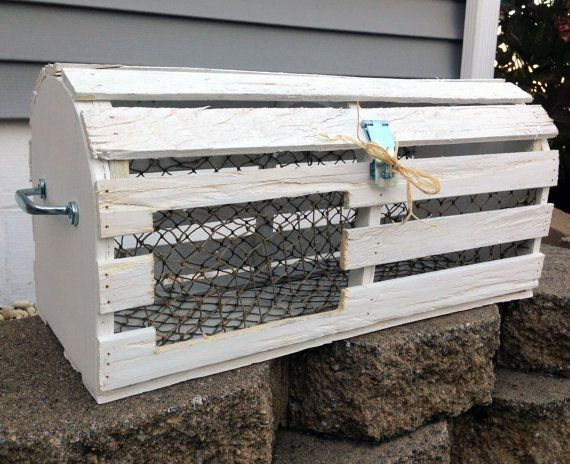 Vintage Reclaimed Wood Maine Lobster Trap