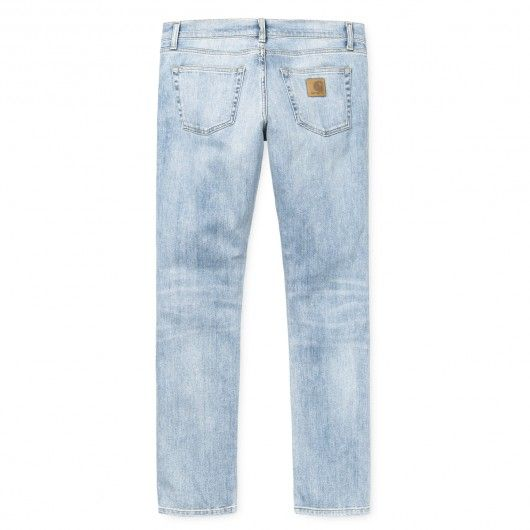 CARHARTT WIP Jean Rebel Spicer blue true bleached denim super slim tapered 89,00 € #skate #skateboard #skateboarding #streetshop #skateshop @playskateshop