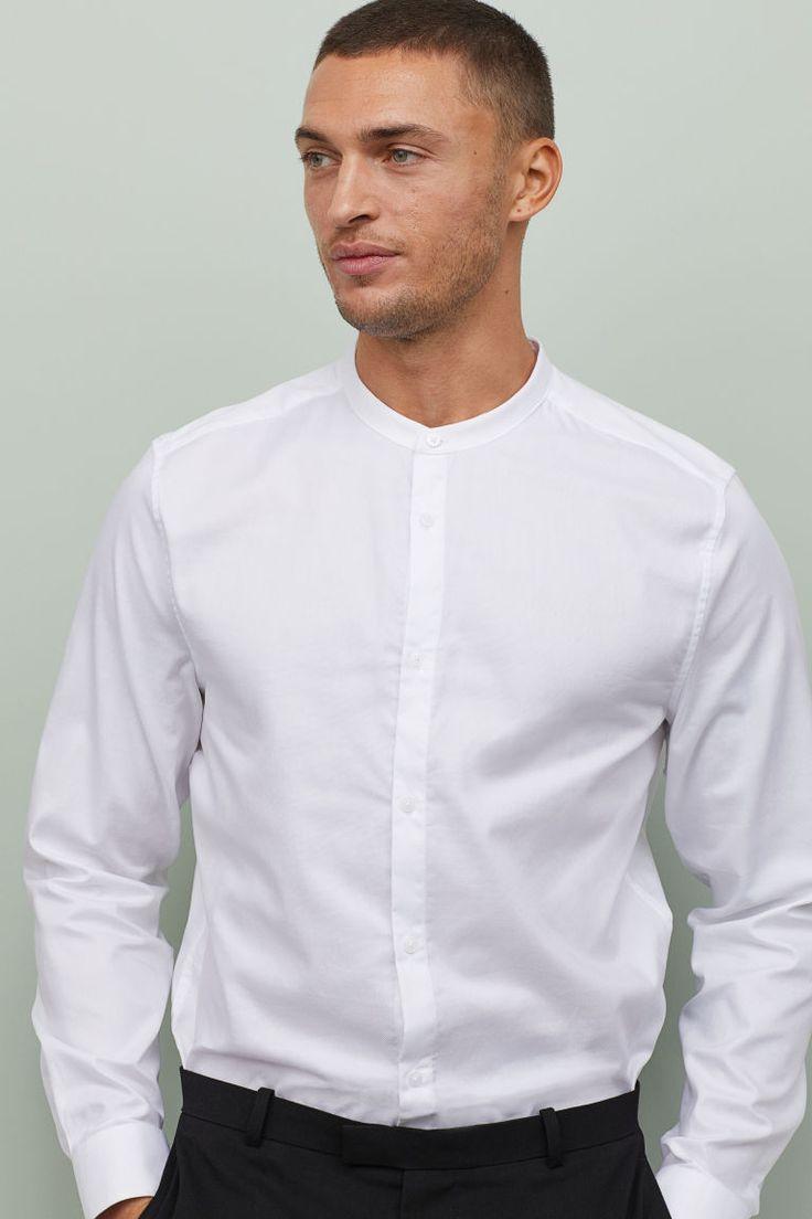 37+ Mens banded collar dress shirt info