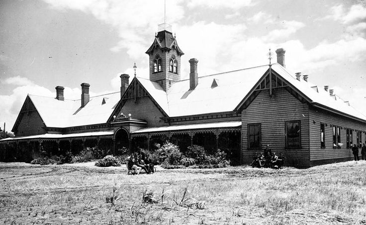Longerenong Agricultural College in 1921.