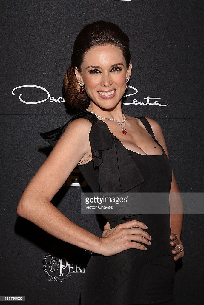 Tv personality Jacqueline Bracamontes attends the Gala Moda Nextel 2011 red carpet at the Plaza de Toros on June 4, 2011 in Mexico City, Mexico.