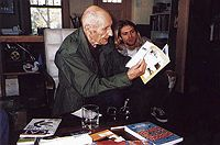 Kurt Cobain & William S. Burroughs