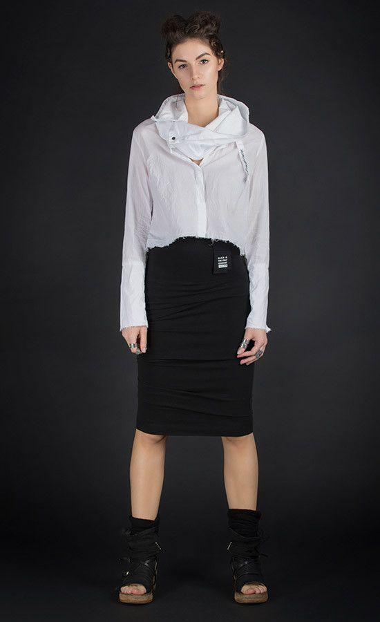 TARVEE  Crop white blouse  | Studio B3 |