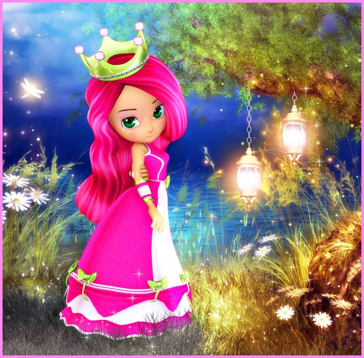 The lovely Princess Berry from ButterflyWebGraphics.com.