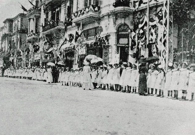 [Ottoman Empire] Salonica Visit of Sultan Mehmed V, 1911 [Thessaloniki, Greece] [Sultan Reşad'ın Selanik Ziyareti] (19)   by OTTOMAN IMPERIAL ARCHIVES