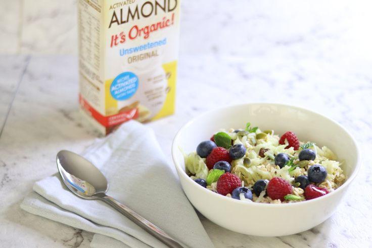 Bircher Muesli and Almond Milk