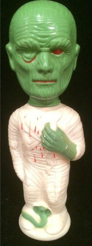 COLGATE-PALMOLIVE: 1960s MUMMY Soaky Bubble Bath Bottle