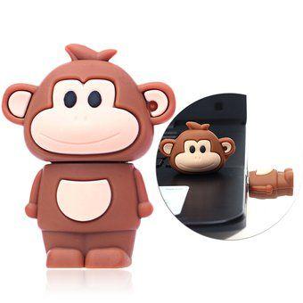 Memoria USB 2.0 8gb 16gb 32gb 64gb Mono-marrón