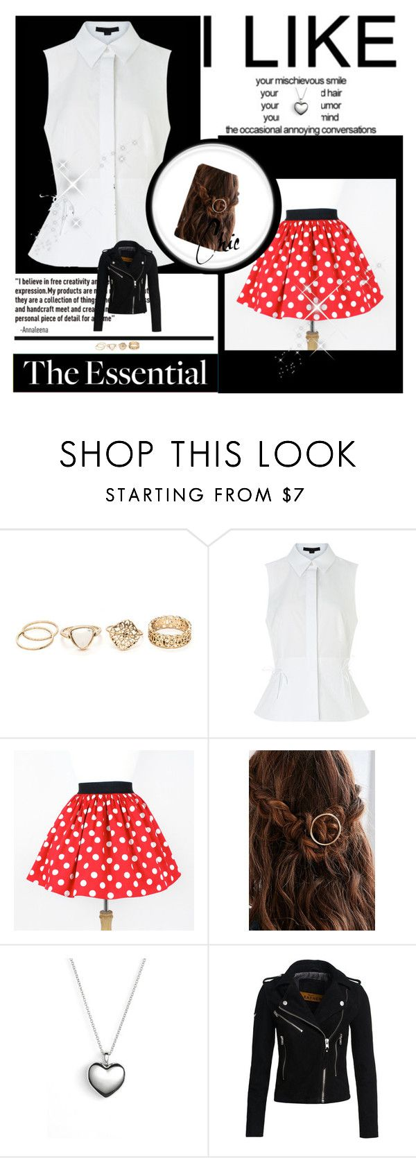 """Untitled #7"" by abby155367 ❤ liked on Polyvore featuring Alexander Wang, Pandora and Superdry"