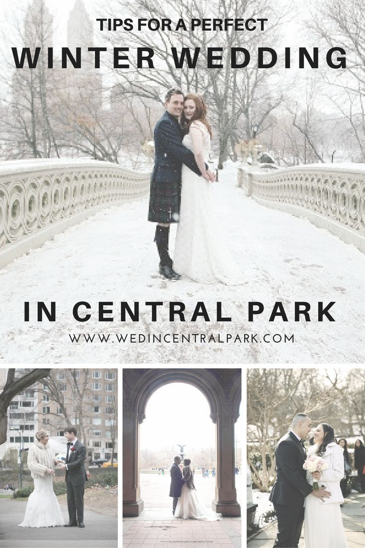Winter Wedding in Central Park Tips