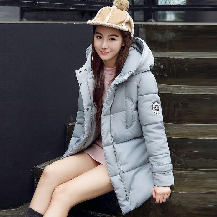Womens Winter Jackets And Coats Long 2016 New Winter Ladies Jacket Down Parka Women Coat Slim Hooded Outwears aliexpress.com