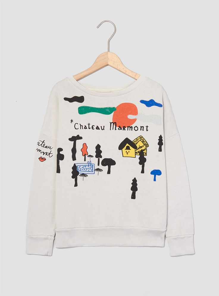Bobo Choses - Sweatshirt Chateau Stone