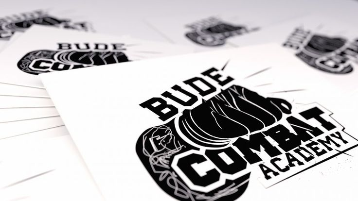 Logo Design for Bude Combat Academy