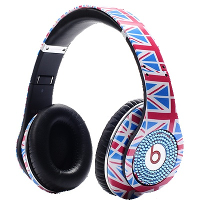 British flag Beats!!!  You know these have gotta cost alot!