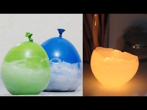 DIY: Vela de Bexiga, Luminaria