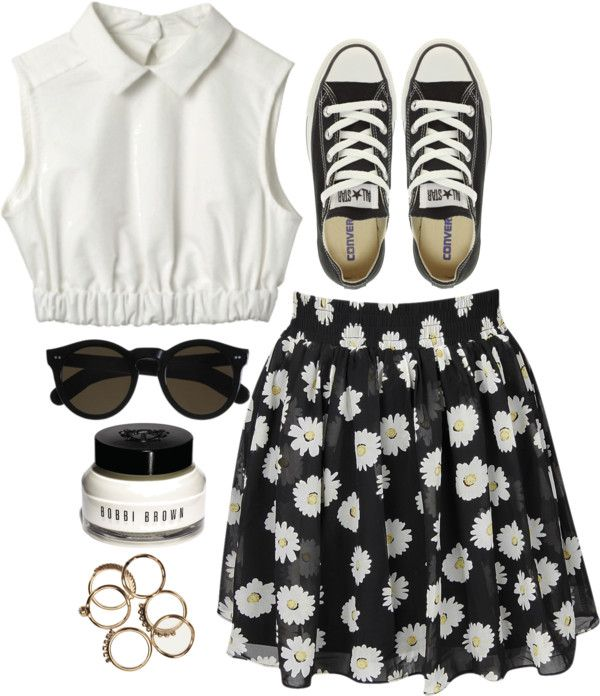"""I was a daisy fresh girl"" by rosiee22 ❤ liked on Polyvore"