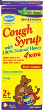 "Hyland's Cough Syrup with 100% Natural Honey 4 Kids    ""My grandson had a horrible cough and because he was only two the Drs. would not subscribe him anything, altho I doubt it would have worked anyway, so I got him this. Within a few minutes of taking it he stopped coughing.""  Click to read full review."