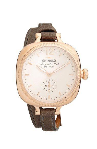Shinola Watch. Why yes, please.