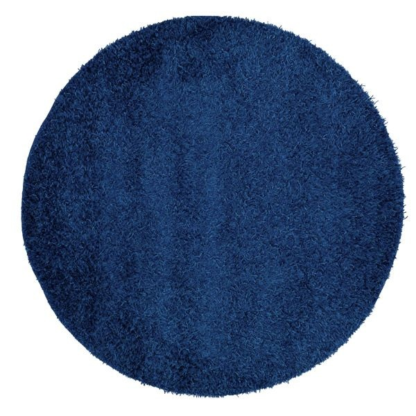 tapis rond bleu marine. Black Bedroom Furniture Sets. Home Design Ideas
