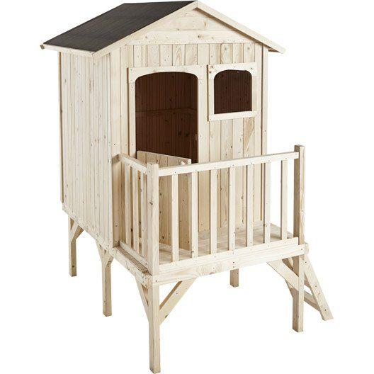 maisonnette bois maelys soulet 2 6 m 2 ans. Black Bedroom Furniture Sets. Home Design Ideas