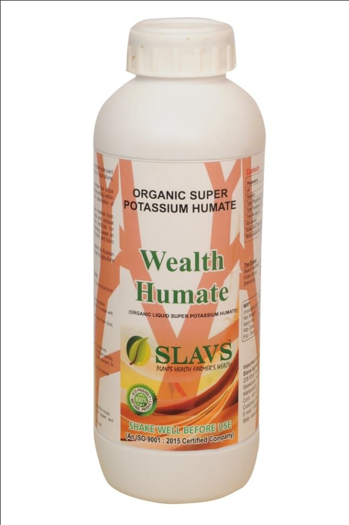 Wealth Humate (Organic Liquid Super Potassium Humate) Great