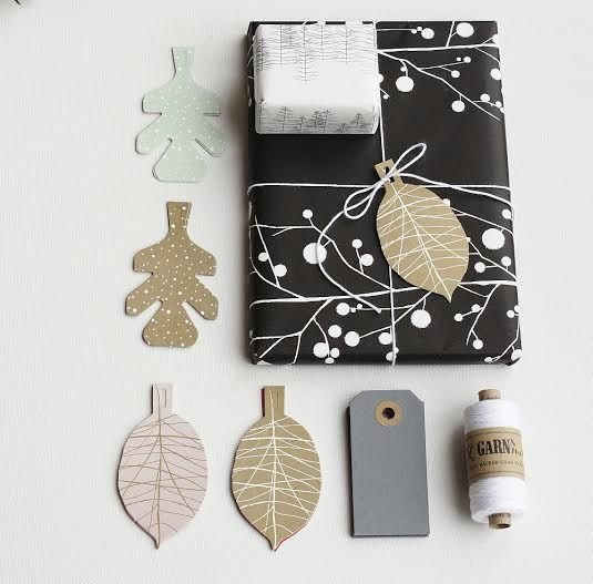 gift wrap and tags, Jurianne Matter for Ompak. Photo's Sabine Wittig | la mesa