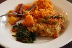 Jollof Rice Recipe - also called 'Benachin' meaning one pot in the Wolof language, is a popular dish in many parts of West Africa- Saveur.com