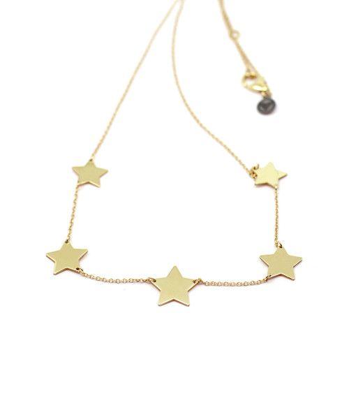 Necklace Sympathetic Stars | Rossella Catapano Jewelery Designer