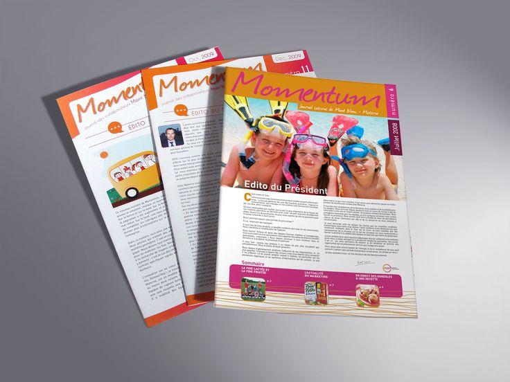 Momentum, le magazine interne de Materne