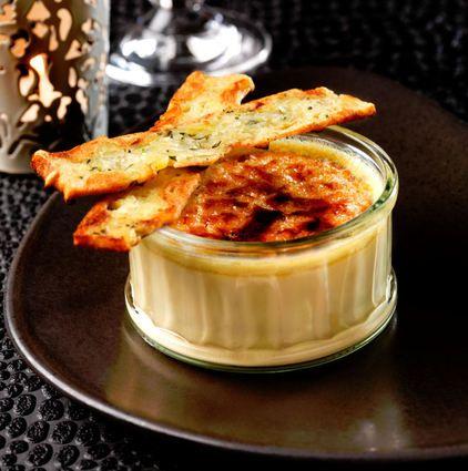 Crème brûlée au foie gras : la recette facile