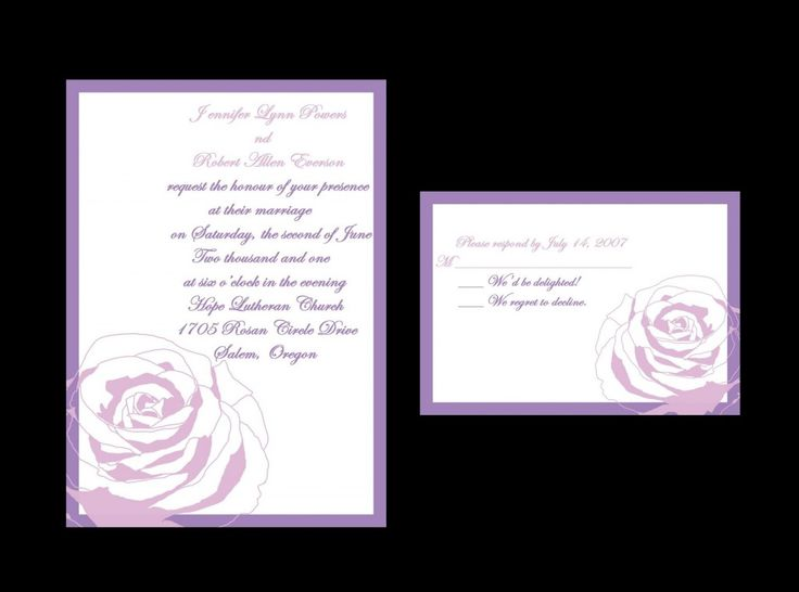 Standard Wedding Invitation Wording: 17 Best Ideas About Wedding Invitation Size On Pinterest