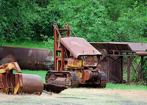 old logging machinery | Old Logging Equipment