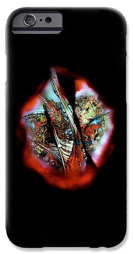 Fade Away IPhone 6s Case Printed with Fine Art spray painting image Fade Away by Nandor Molnar (When you visit the Shop, change the orientation, background color and image size as you wish)